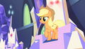 Applejack sits in her throne S5E1.png