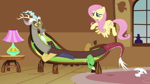 Fluttershy 'Are you alright' S3E10