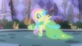 Fluttershy befriending animals in her fantasy S1E26.png