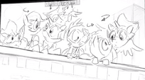 Power Ponies Season 4 Sketch