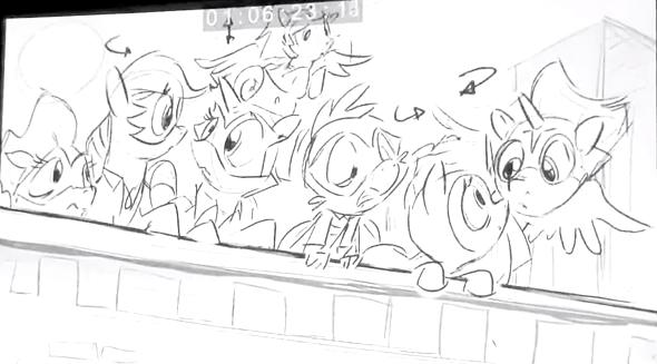 File:Power Ponies Season 4 Sketch.png