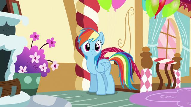 File:Rainbow enters Pinkie Pie's loft bedroom S6E15.png