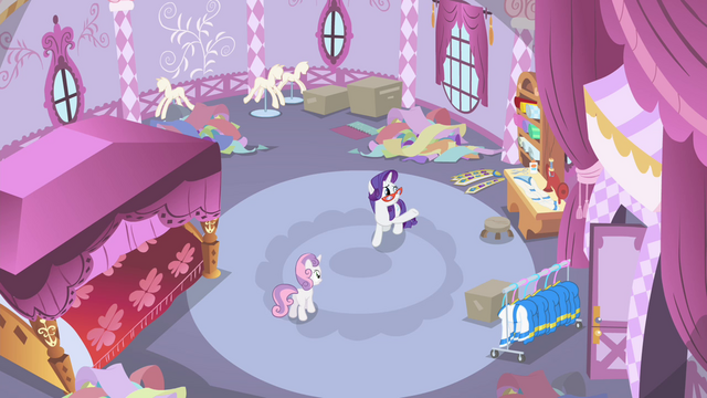 "File:Rarity ""by day after tomorrow at the latest!"" S4E19.png"