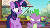 "Spike ""will somepony please tell me"" S6E22"