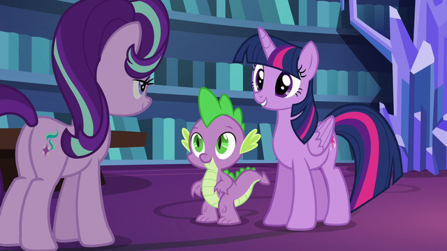 File:Twilight and Spike impressed with Starlight S6E21.png