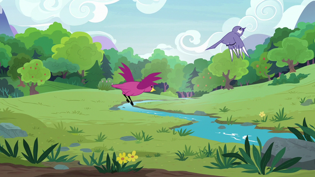 File:Birds flying across the grassy meadow S7E5.png