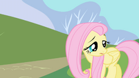Fluttershy squeaks her name S1E01