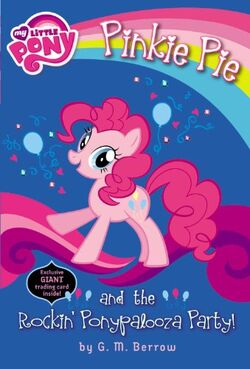 Pinkie Pie and the Rockin' Ponypalooza Party! cover
