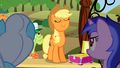 Angry ponies watch Applejack S2E15.png