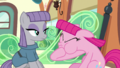 Pinkie blowing her mane up S7E4.png