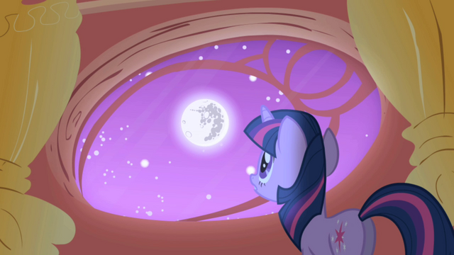 File:Twilight looking out her library window S1E01.png