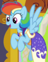 Rainbow Dash second Gala outfit ID S5E7