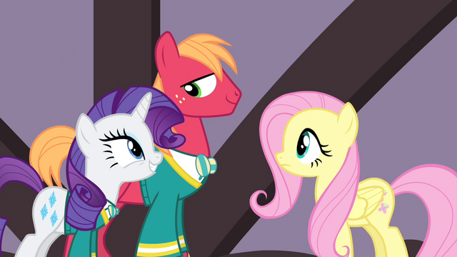 """File:Rarity """"Big Mac's voice is all better"""" S4E14.png"""