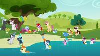 A birthday party near a pond S5E19