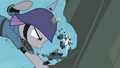Maud reducing boulder to pieces S4E18.png
