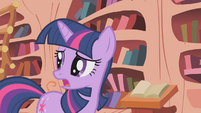 "Twilight Sparkle ""causing all this smoke"" S1E07"