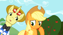 Uncertain Applejack and Flim S02E15