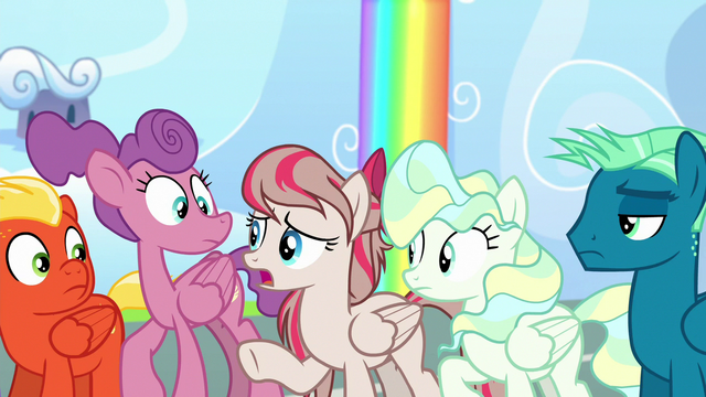 "File:Angel Wings ""the pony whose wings fell off"" S6E24.png"