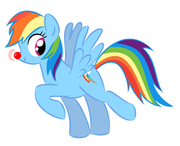 File:FANMADE Merry Christmas Rainbow Dash by chameron-d4jcsk2.png