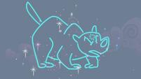 "Neon depiction of ursa ""major"" S1E06"