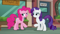 "Pinkie ""I can sneak away to pick out a rock pouch!"" S6E3"