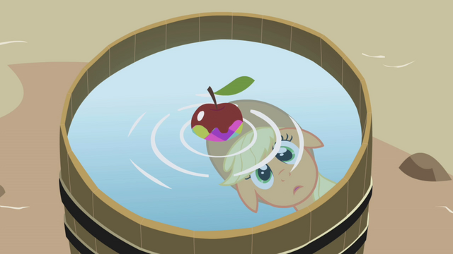 File:Applejack with an apple S01E05.png