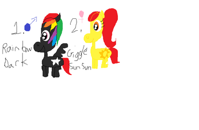 FANMADE adopt a pony 1