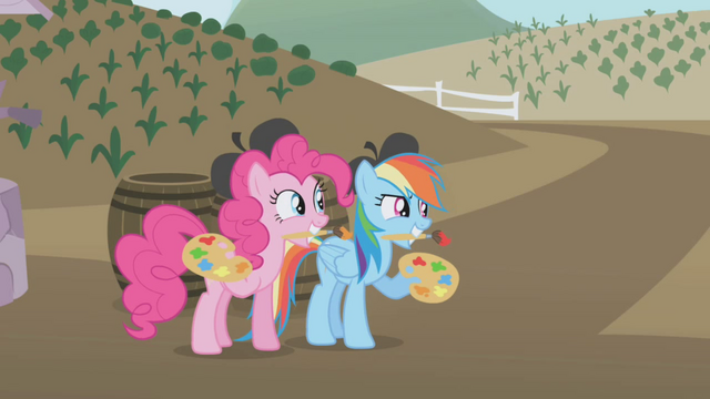 File:Pinkie Pie and Rainbow apple painters S1E05.png