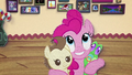 Pinkie Pie hugging Pound Cake and Gummy BFHHS3.png