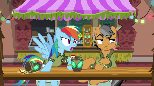 File:Rainbow argues; Quibble rolls his eyes S6E13.png