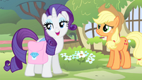 Rarity 'that you're not comfortable' S4E14