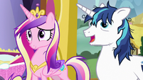 "Shining Armor ""thanks again, Twily"" S7E3"