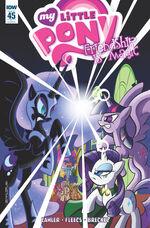 Comic issue 45 cover RI