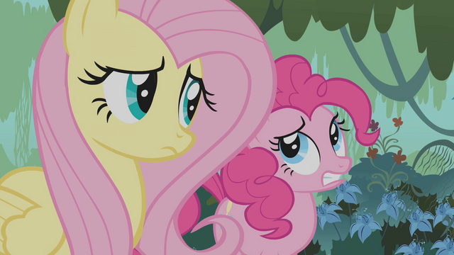 File:Fluttershy and Pinkie Pie worried S1E09.png