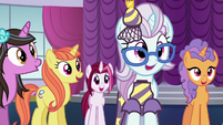 Ponies happy that Canterlot Carousel is staying open S5E14