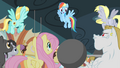 Rainbow Dash encouraging the teams S4E24.png