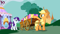 Applejack and Rarity S3E8