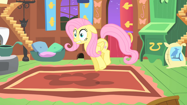 File:Fluttershy shocked by the CMC's behavior S1E17.png