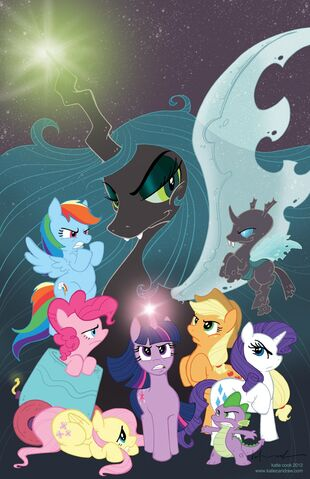 File:My Little Pony IDW comics announcement art.jpg