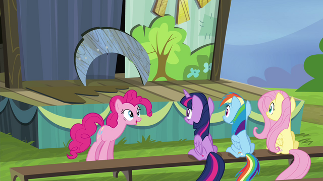 "File:Pinkie Pie ""And an extra woo for good measure!"" S4E21.png"