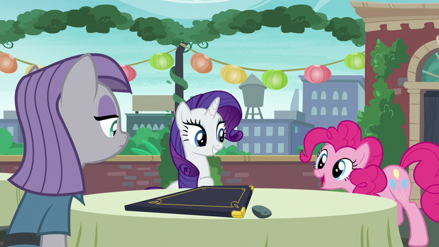 "File:Pinkie acting ""Now pardon me whilst I go wash my hooves!"" S6E3.png"