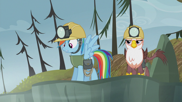 """File:Rainbow """"totally got my answer there"""" S5E8.png"""