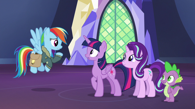 """File:Rainbow Dash """"does that mean there's bad news?"""" S6E24.png"""