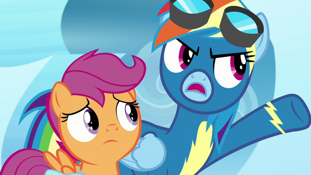 """File:Rainbow Dash """"talked to Twilight or something!"""" S7E7.png"""