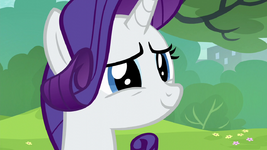 Rarity d'aww-ing at Pinkie and Maud S6E3