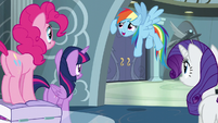 Rainbow Dash being humble S6E7