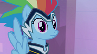 Rainbow Dash confused look S4E06