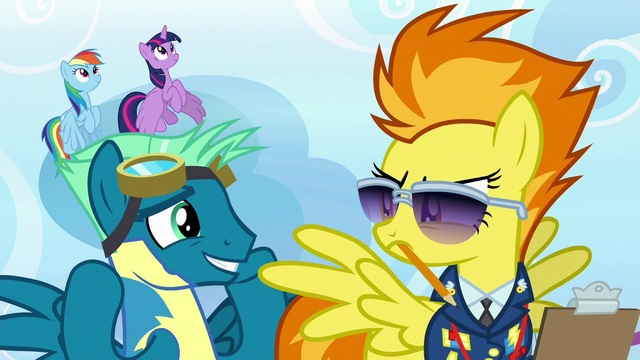 File:Sky Stinger looking embarrassed at Spitfire S6E24.png
