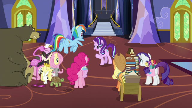 File:Starlight and friends gathered in the foyer S6E21.png