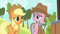 """Applejack """"she does have a point there"""" S7E5"""